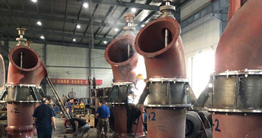 水泵生产车间
