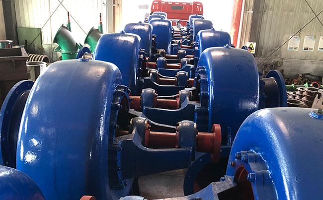 650HW型混流泵装车fa货